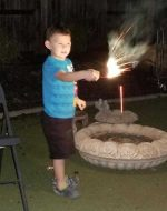 2018-Oct-13 - Bubba with Sparkler