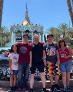 2019-July-22 - At Great America with Family