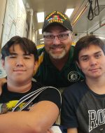 2019-July-27 - Riding the BART train with my sons