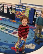 2019-Nov-15 - EJ at his Preschool