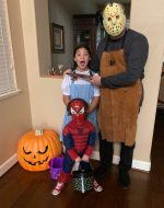 2019-Oct-31 - Halloween with Jocelynn and EJ