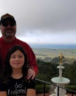 2020-Jan - At Hearst Castle, CA with EJ & Jocelynn