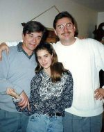 2020-July - Collage In 1993 - Michael with Uncle Francois and cousin Orilia