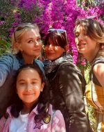2020-July - Collage - My 1st Cousin Marie (Pouchie) and her kids Melanie Zoe & Rose