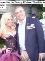 2011-08a-Michael with Bridget Marquardt at the Playboy Mansion