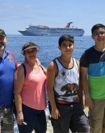 31-July to 4-August-2016 - Papa, Mary, Tyler & Nick on Carnival Cruise