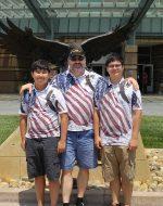 27-July-2016 - Tyler, Papa & Nick at VA Palo Alto