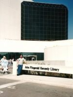2002-09s-Michael at Pres. JFKennedy Library in Boston, MA