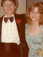 1979-05b-Michael and his Senior Prom date Cheryl-Lynn Folks-Wheaton, Maryland