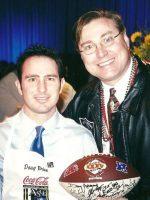 2001-01n-Michael & Doug Brien-New Orleans Saints
