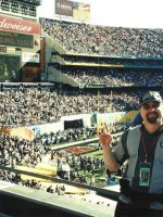 2003-01-Michael at Super Bowl 37 in San Diego, CA