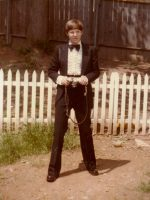 1979-05c-Michael and his Senior Prom Tux-Wheaton, Maryland