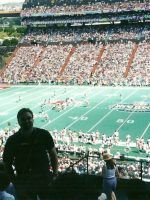 2003-02-Michael at the NFL Pro Bowl in Ohau, Hawaii