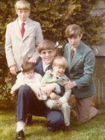1979-10-Eric, baby Gigi, Michael, Jeremy & Christian