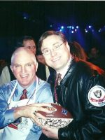 2001-01r-Michael & Andy Russell-Pittsburgh Steelers-Won 2 Super Bowls