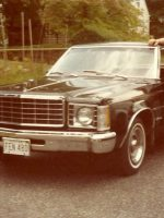 1981-06-Michael and his 1st car a 1977 Ford Granada