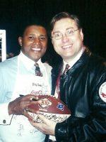 2001-01v-Michael & Brig Owens-Washington Redskins