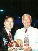 2001-01y-Michael & Chuck Mercein-Green Bay Packers-Won Super Bowl 2
