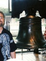 2003-09d-Michael & the Liberty Bell in Philadelphia, PA