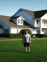 2003-10a-Michael at Southfork Ranch where the filmed the TV show Dallas in Parker, Texas
