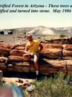 1986-05h-Petrified Forrest in Arizona