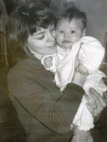 1963-06b-Mom & baby Michael