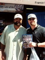 2003-02-Michael & Franco Harris-Pittsburgh Steeler at Pro Bowl in Hawaii