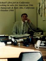 1986-10a-Michael's first job, at American Title