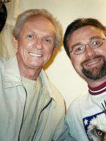 2003-03b-Michael and Singer Mel Tillis in Branson, Missouri