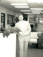 1987-06b-Michael at his 1st civilian job in Calif working for American Title
