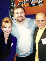 2003-03f-Michael with Preacher Jim and Lori Bakker in Branson, Missouri