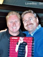 2004-07-Michael with the lead singer of LoverBoy