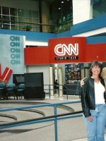 2005-01a-Mary & Michael at the CNN headquarters in Atlanta, Georgia