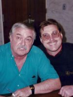 1993-10-Michael & James Doohan (Scottie)-Star Trek