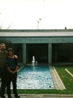 2005-01c-Michael & Mary at the President Jimmy Carter Library in Atlanta, GA