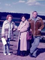 1989-10-Michael's maternal grandmother Mamita, his mother Anne & step-father Lewis