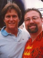 2005-02-Michael & Bruce Jenner-Olympic Gold Medal in 1976