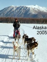 2005-03-Michael Dog Mushing in Alaska