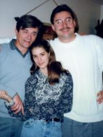 1990-10c-With Uncle Francois and cousin