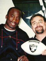 2005-04-Michael & Akbar Gbaja Biamila-Oakland Raiders
