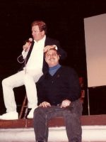 1994-01a-Michael & William Shatner-Actor (Capt Kirk in Star Trek)