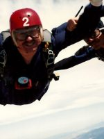 1991-08-Michael Skydiving in Hollister, California