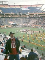 2006-12-Michael at the College Insight Bowl in Tempe, Arizona