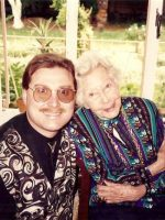 1994-04b-Michael visiting his great aunt Tia in Mexico City, Mexico