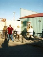 2007-01-Michael at the Real OK Corral in Tombstone, Arizona