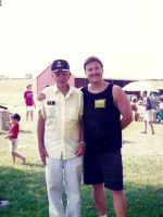 1995-08a-Michael with Grandpa Tuel