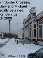 2008-03-At the country of Belarus border near Lithuania