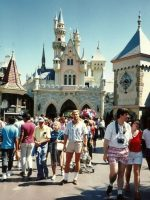 1986-06c-Michael at Disneyland in LA, California
