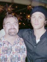 2006-10b-Michael & Jared Padalecki-Actor at Playboy Club opening in Las Vegas
