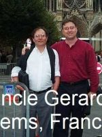 1999-10-Michael with his Uncle Gerard in France
